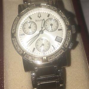 Women's Bulova chronograph Watch